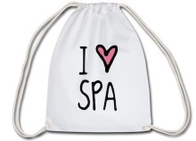 I Love Spa Sportbeutel