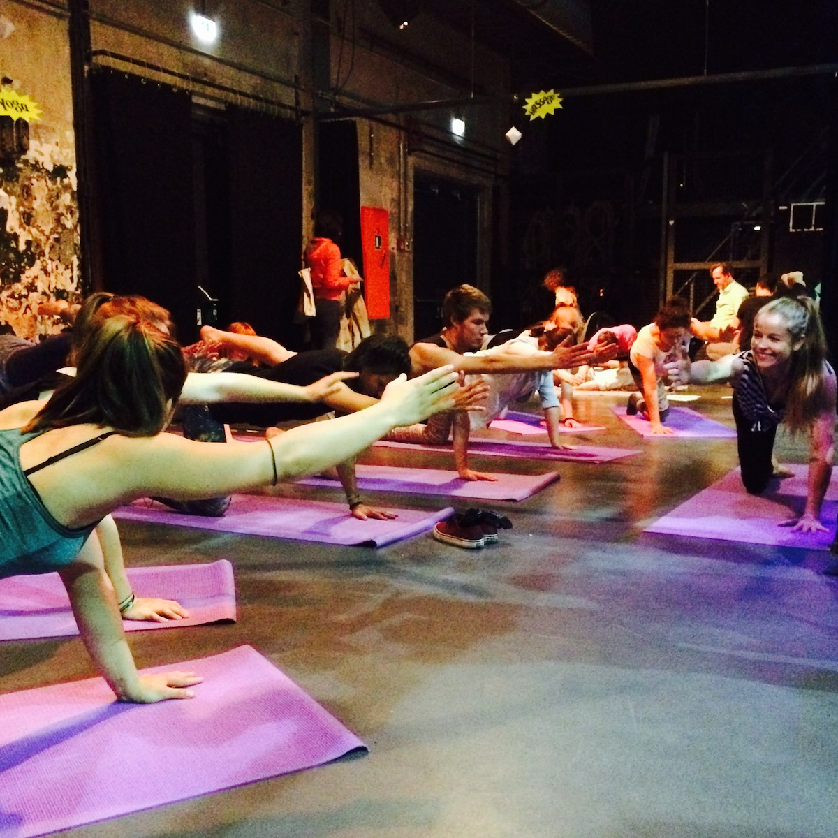 Morning Gloryville Berlin Yoga