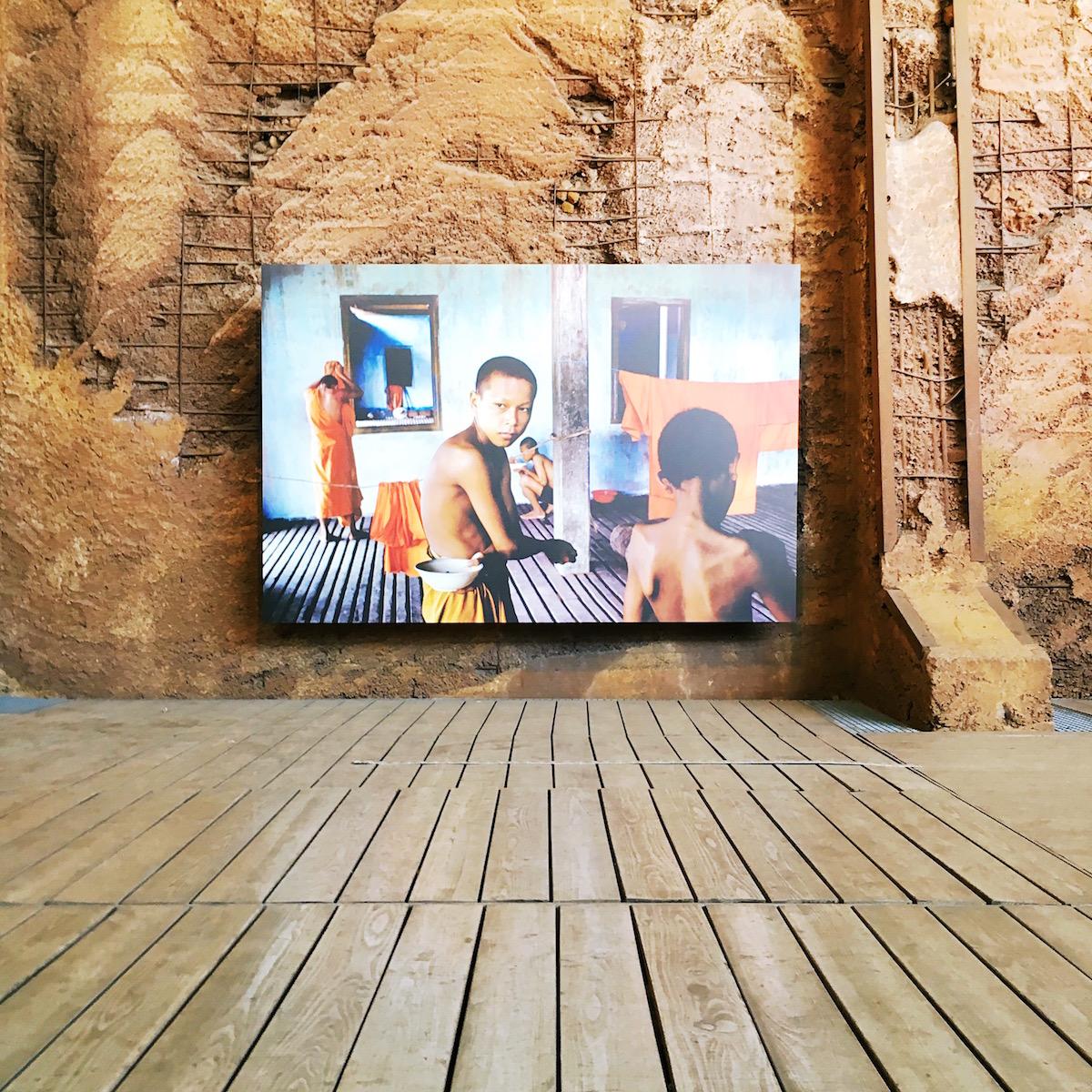 Steve McCurry Buddhismus Ausstellung