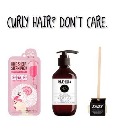 Die 3 besten Haarkuren für Naturlocken!