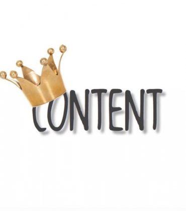 Content is King? Der König ist tot.