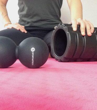 Schulter-Nacken-Verspannungen lösen mit Happy Roll und 'Take a break' von Sportastisch