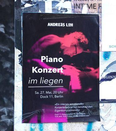Konzert im Liegen – Andreas Loh in Berlin