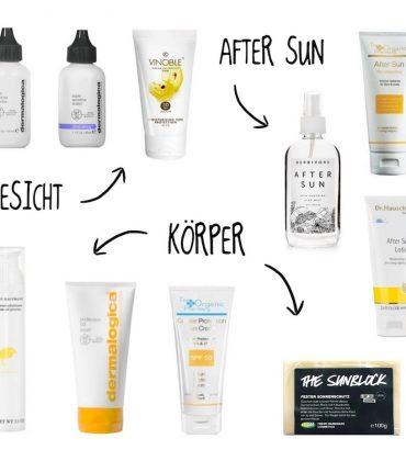 Top 10 Sonnenschutz & After Sun
