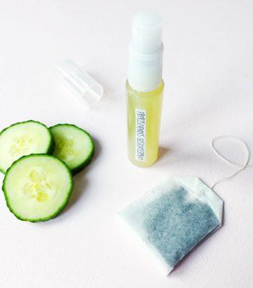 DIY Gesichtsspray Gurke & Grüner Tee