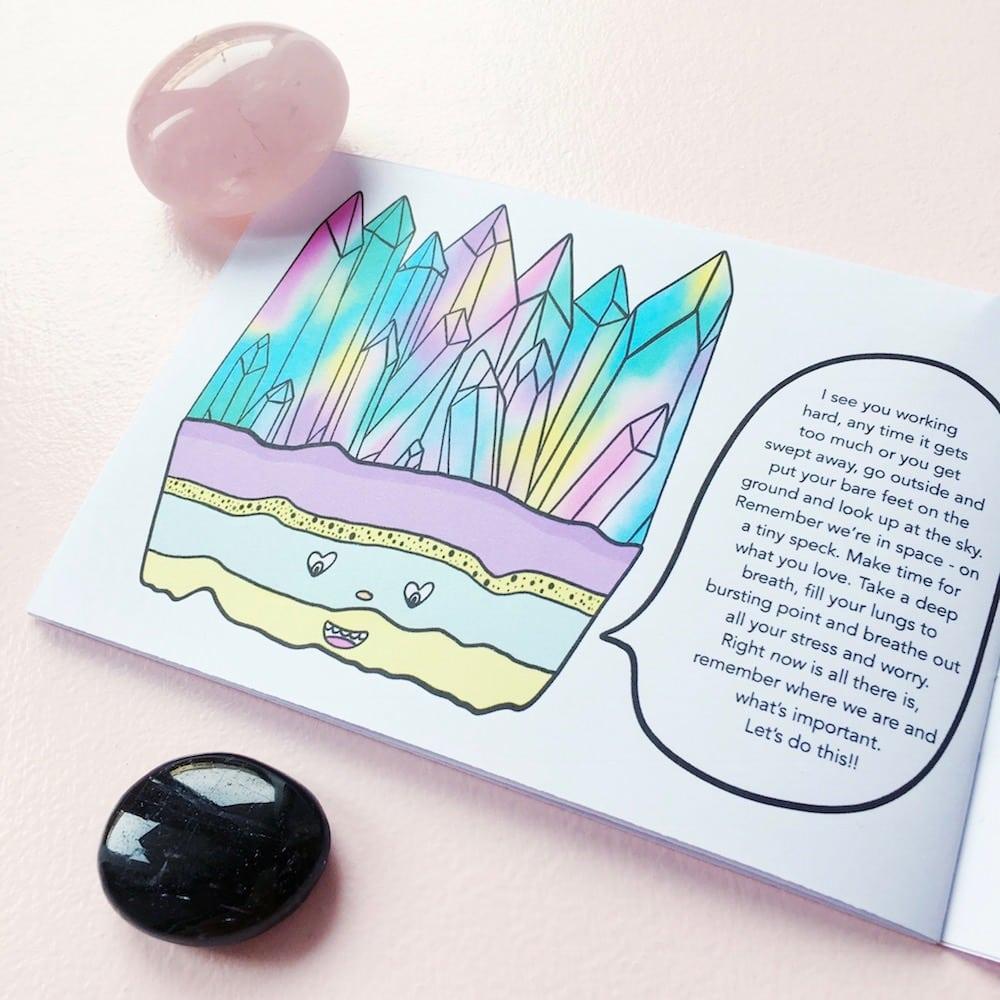 Bilderbuch Caring Crystals