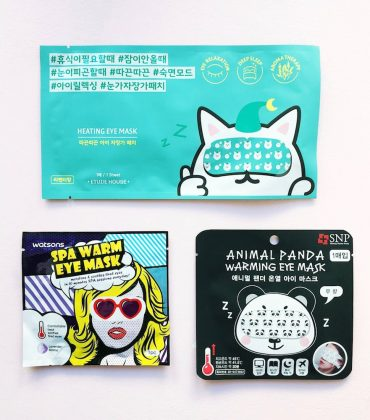 K-Beauty Warming Eye Masks