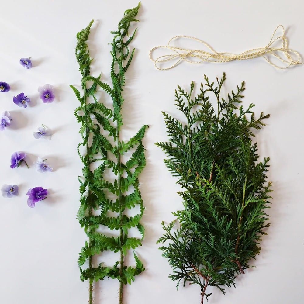 DIY Smudge Sticks mit Veilchen
