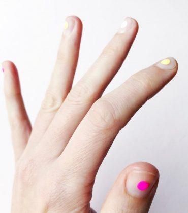 DIY Minimal Manicure #10 – Sommer