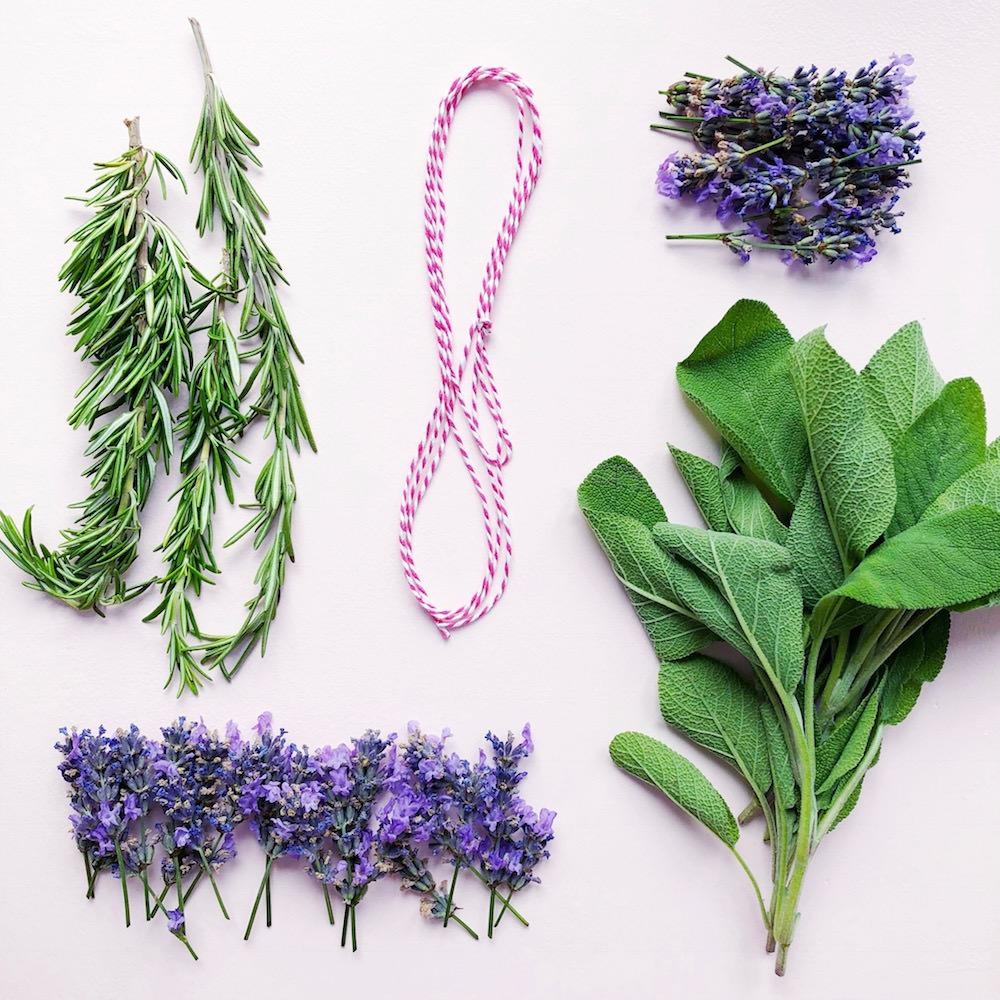 DIY Smudge Sticks Lavendel