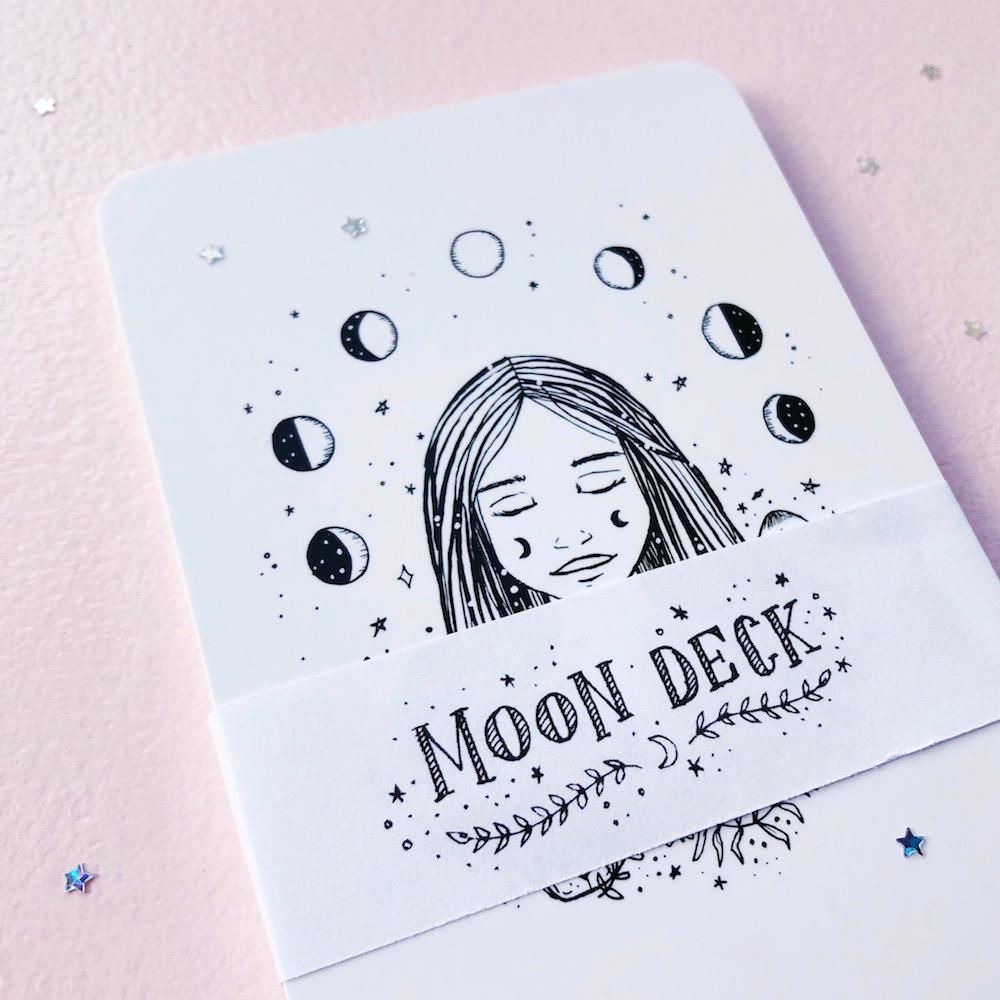 Moon Deck Mondkartenset