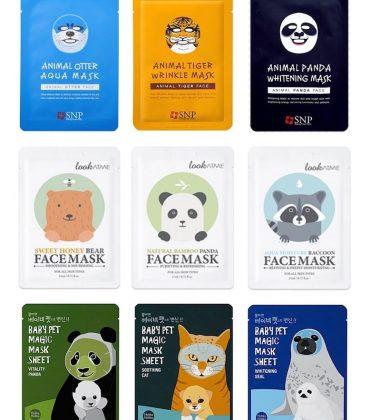 9 koreanische Tier-Gesichtsmasken, die ihr bei Amazon kaufen könnt!