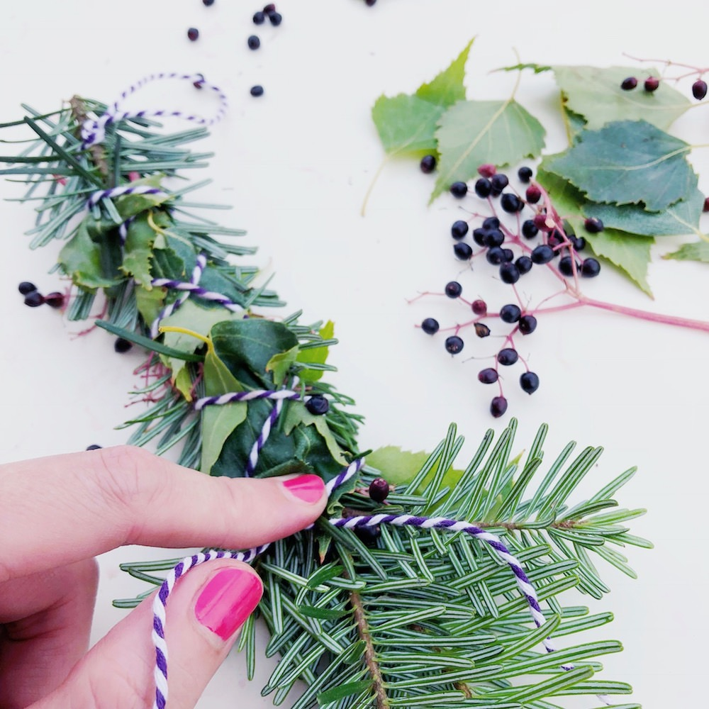 DIY Smudge Sticks Holunder