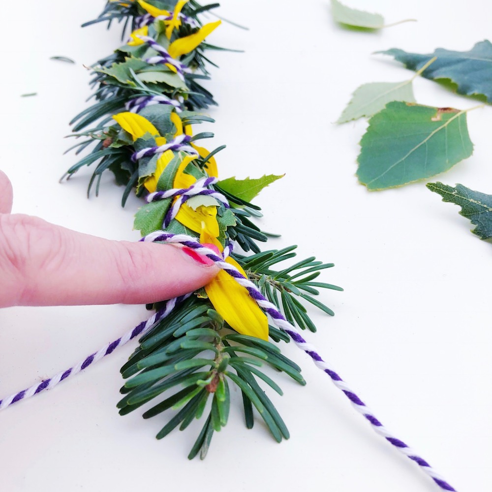 DIY Smudge Sticks Sonnenblume