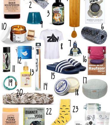Wellness Adventskalender reloaded – 24 Geschenkideen für Männer