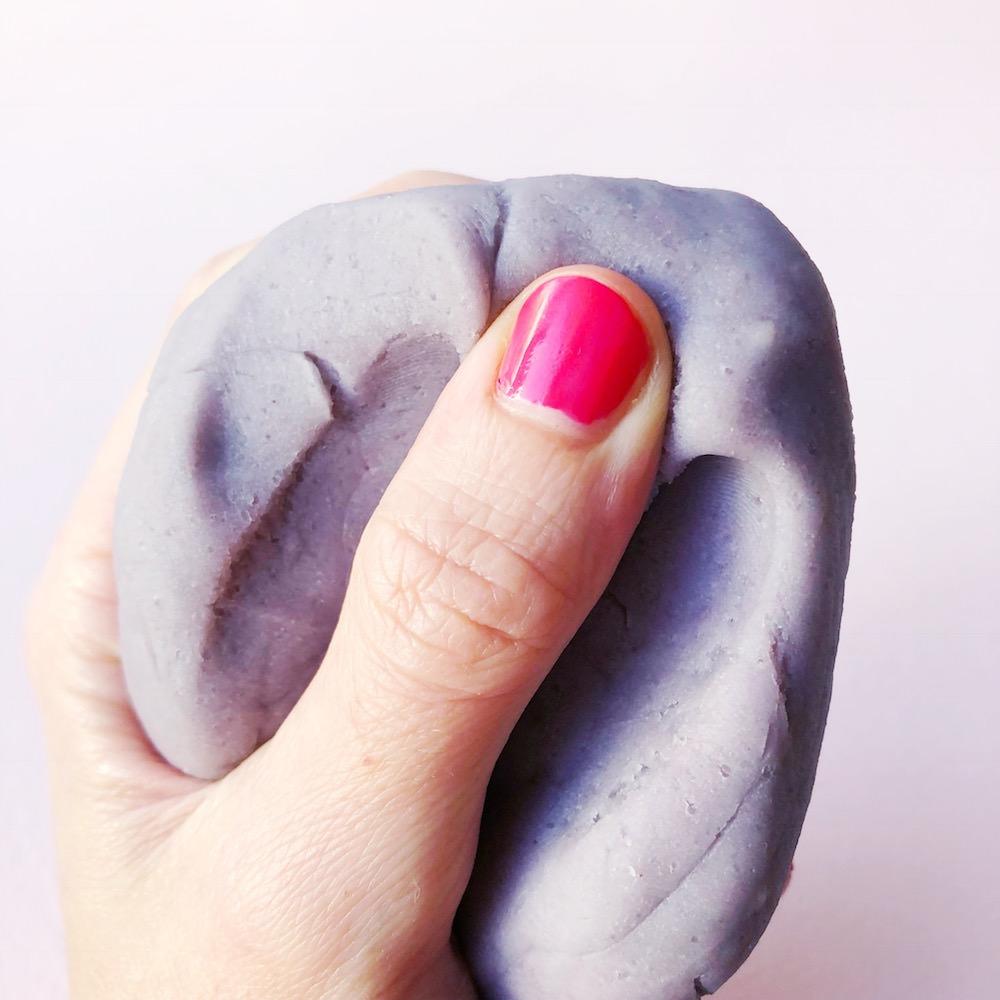 Lavendel Knete selber machen
