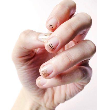 DIY Minimal Manicure #11 – festlich