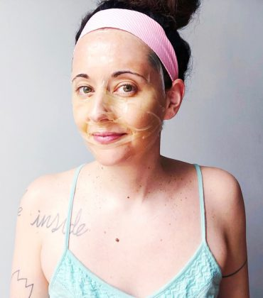 DIY K-Beauty Maske aus Grünem Tee und Reispapier