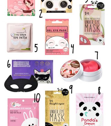 10 Koreanische Augenprodukte, die ihr bei Amazon kaufen könnt!