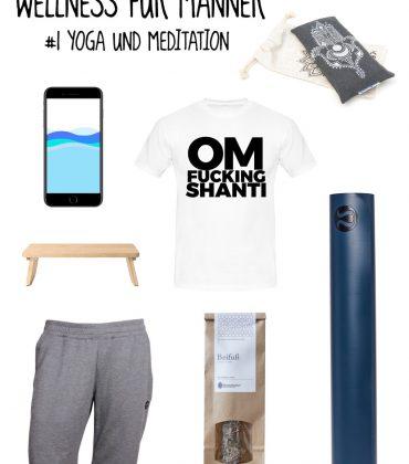 Wellness für Männer – Yoga & Meditation