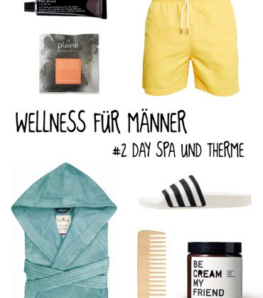 Wellness für Männer – Day Spa & Therme