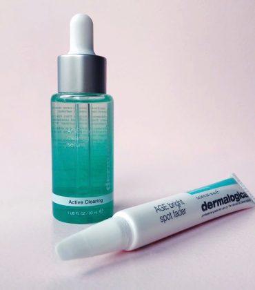 dermalogica AGE Bright Clearing Serum & dermalogica AGE Bright Spot Fader