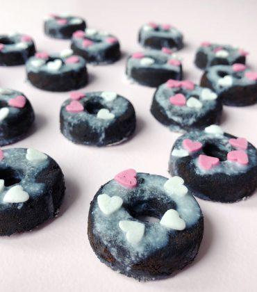 DIY Donuts aus Kaffeesatz – festes Peeling selber machen