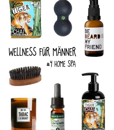 Wellness für Männer – Home Spa
