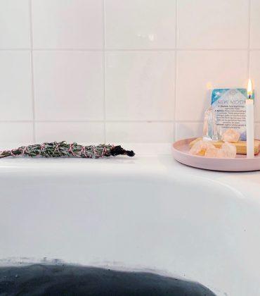 DIY Neumond Ritualbad