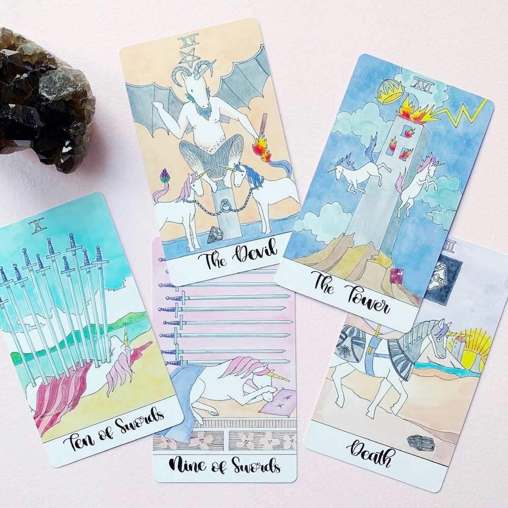 Crystal Unicorn Tarot Deck kaufen online