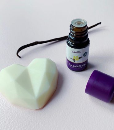 Feste Handcreme selber machen mit Vanilleduft