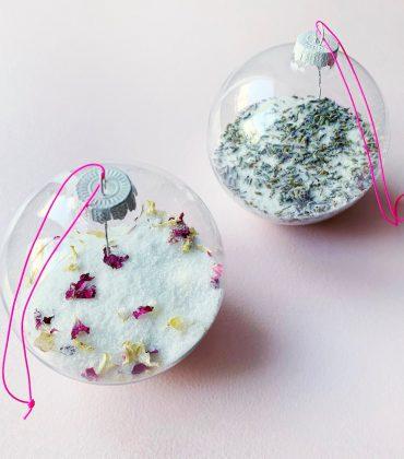 X-Mas Badesalz selbstgemacht – das ultimative Weihnachts Badesalz Rezept