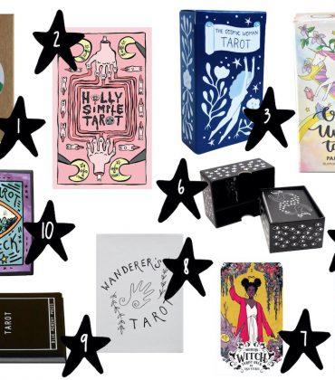 Tarotkarten kaufen – die 10 schönsten und ungruseligsten Tarot Decks