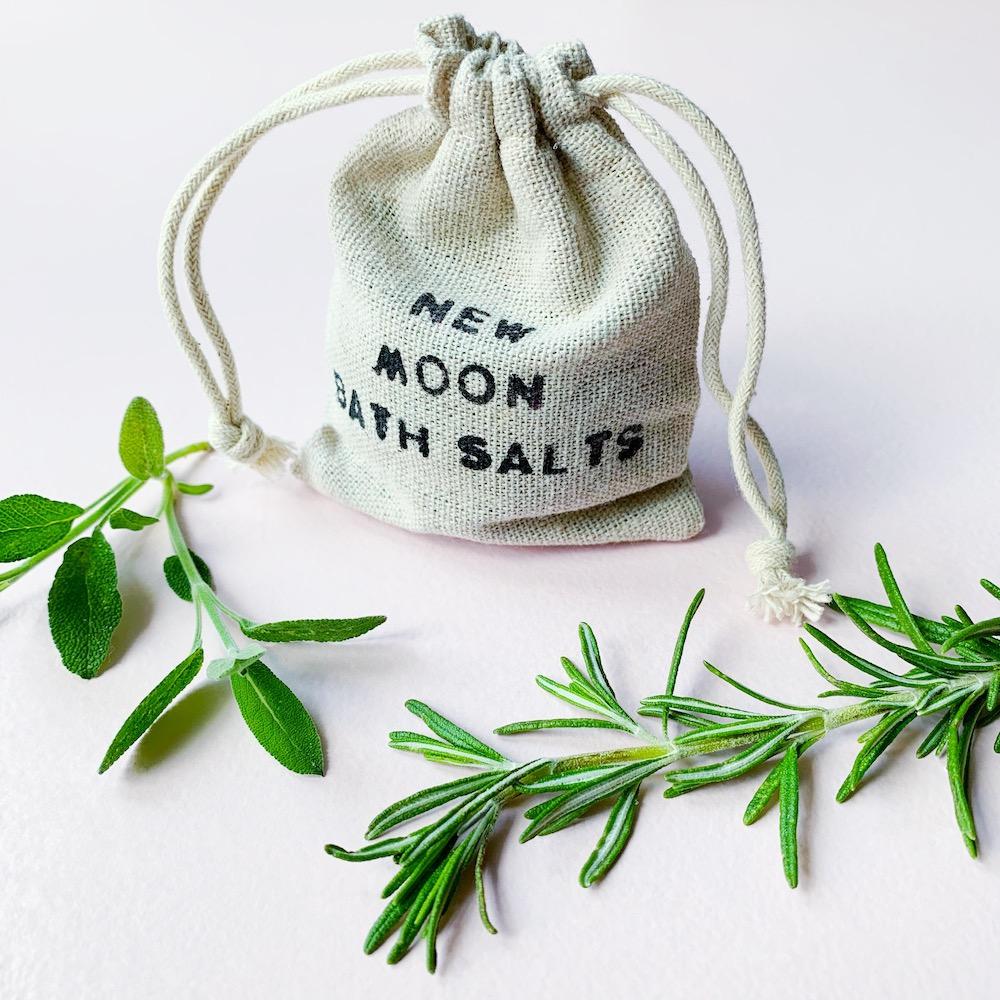 Neumond Badesalz selber machen