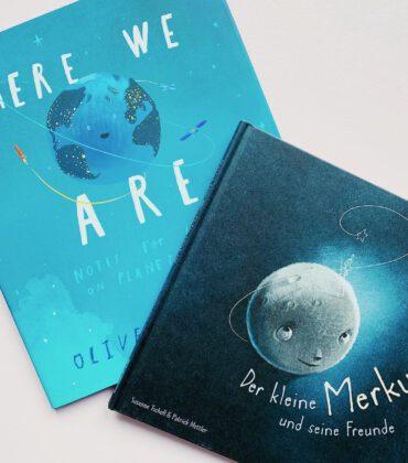 Zwei zauberhafte Astro Bücher für große und kleine Kinder