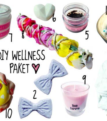DIY Wellness Paket – die besten Rezepte und was alles reingehört