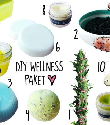 DIY Wellness Paket Mann – die 10 besten Rezepte