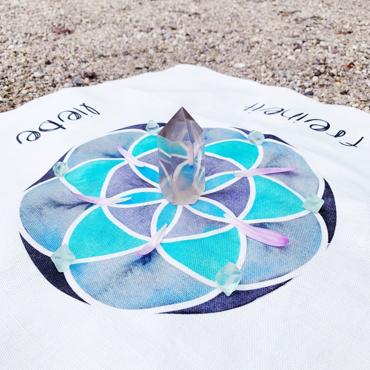 Cosmic Grids Ritualtücher