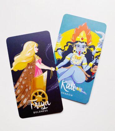 Legendary Ladies Goddess Kartendeck & Buch von Ann Shen