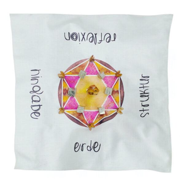 Cosmic Grid Erde Hexagram