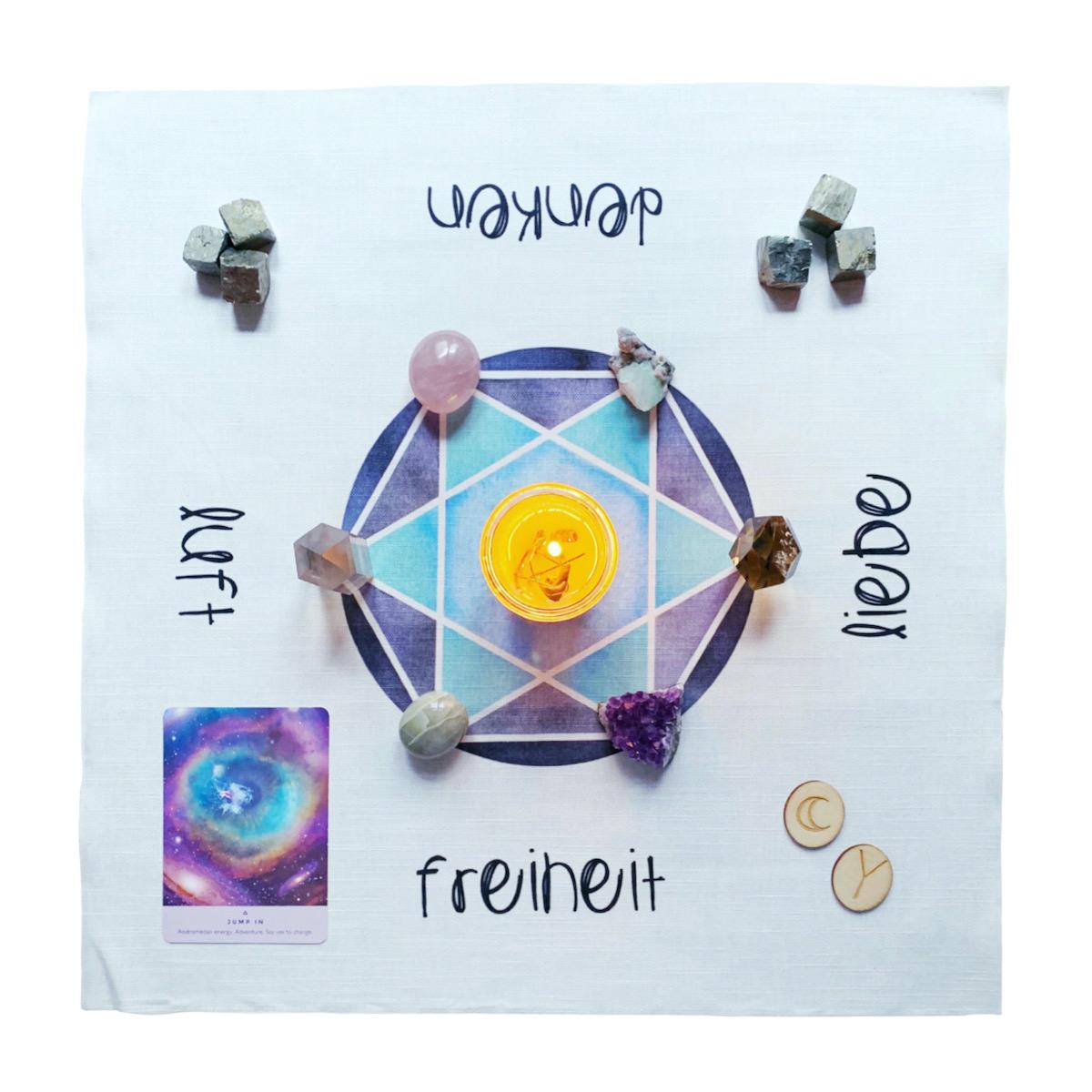 Cosmic Grid Luft Hexagram
