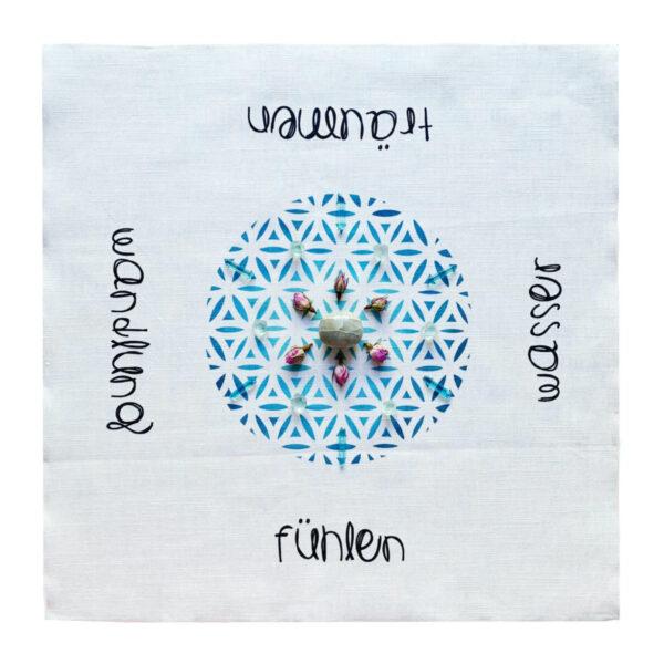 Flower of Life Cosmic Grid Wasser