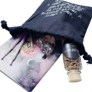 Cosmic Vibes Neumond Ritual Kit mit Mondkalender