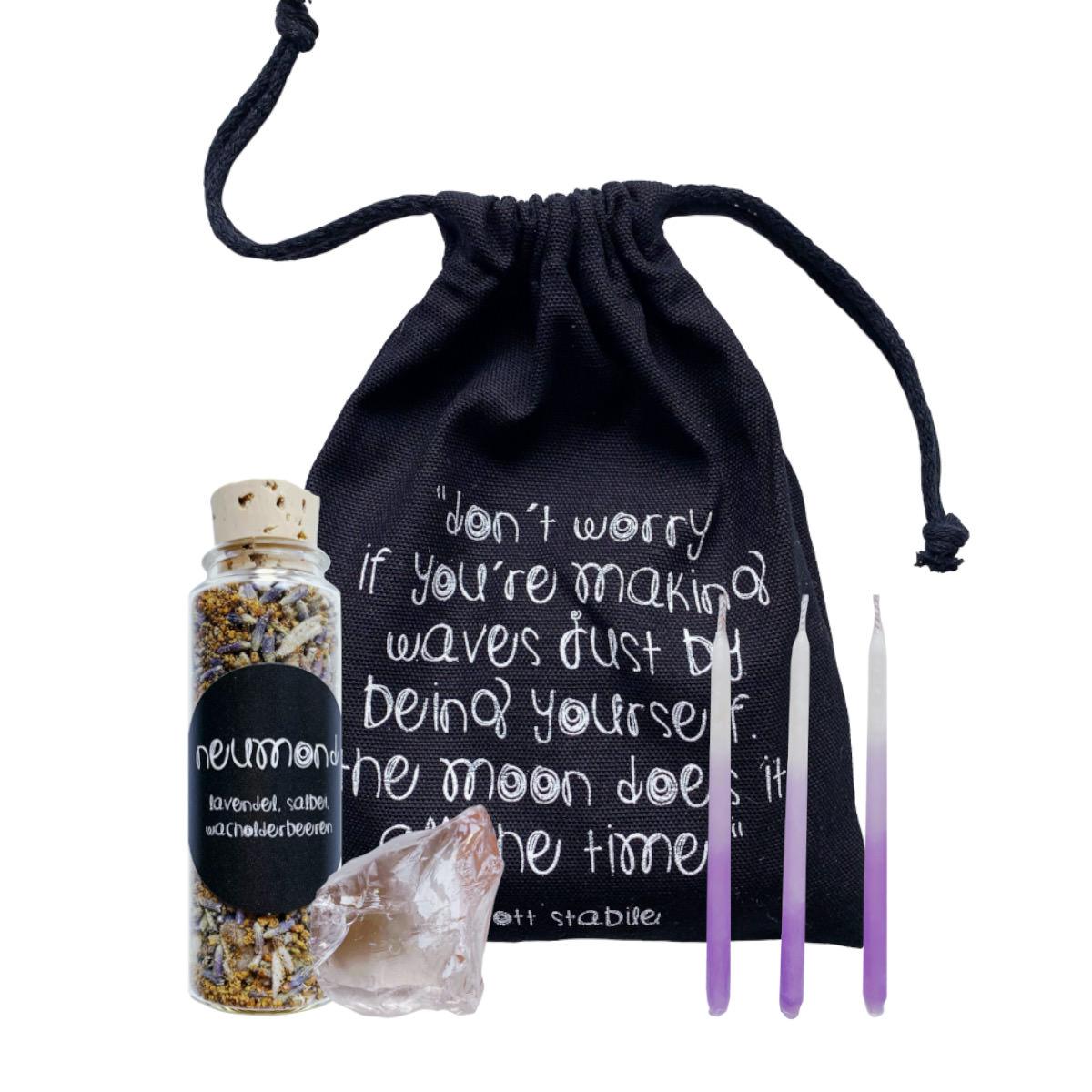 Cosmic Vibes Neumond Ritual Kit