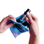 Moon Child Oil Wallet Cosmic Vibes