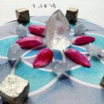 Cosmic Grid Ritualtuch Luft Samen des Lebens