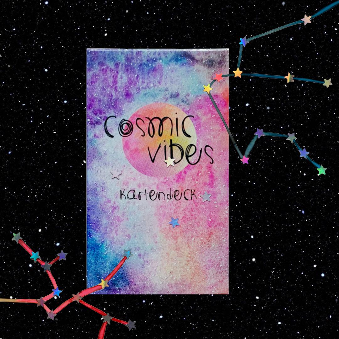 Astrologie Sternzeichen Geschenke Cosmic Vibes Kartendeck