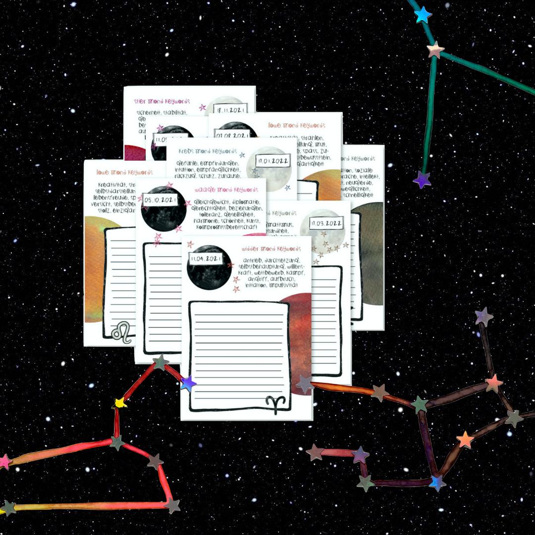 Power Wish Sheets Astrologie Geschenke