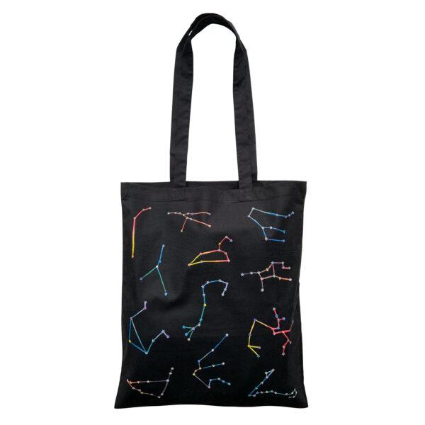 Cosmic Vibes Baumwollbeutel Sternbilder