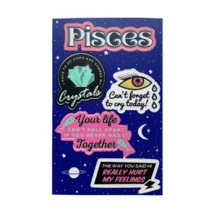 Astrologie Sticker Sternzeichen Fische